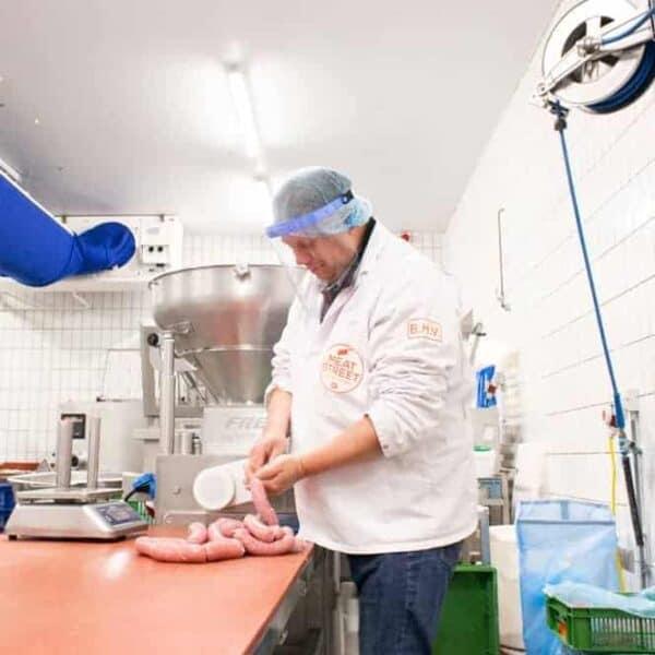 Gelaatsscherm Vista Protector voedselindustrie gelaatsbescherming