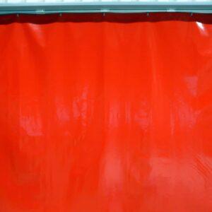 Industriegordijn Rood op maat