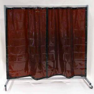 Lasscherm Gordijn Brons 210 x 200 cm x 0.4 mm