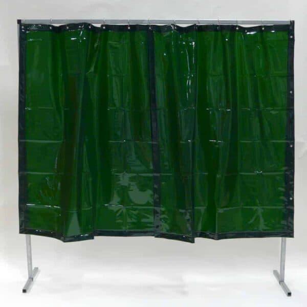 Lasscherm Gordijn Groen 200 x 200 cm x 0.4 mm