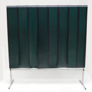 Lasscherm Lamellen 300 x 2 mm Groen 200 x 200 cm