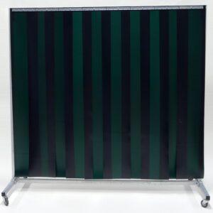 Lasscherm Lamellen 300 x 2 mm Groen 210 x 200 cm