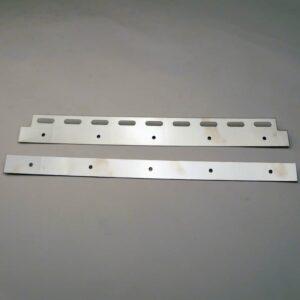 Ophangplaatje Hook on RVS 400 mm