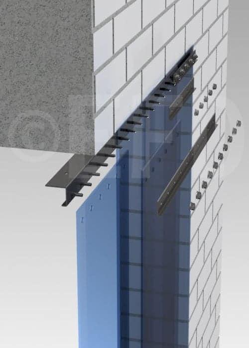 PVC strokengordijn rails ophangsysteem STD plafond