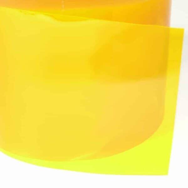 pvc stroken geel detail