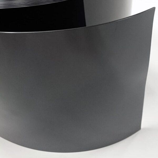 pvc stroken zwart detail